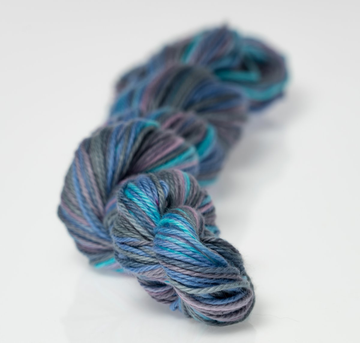 Heather Fingering Lavender Gray