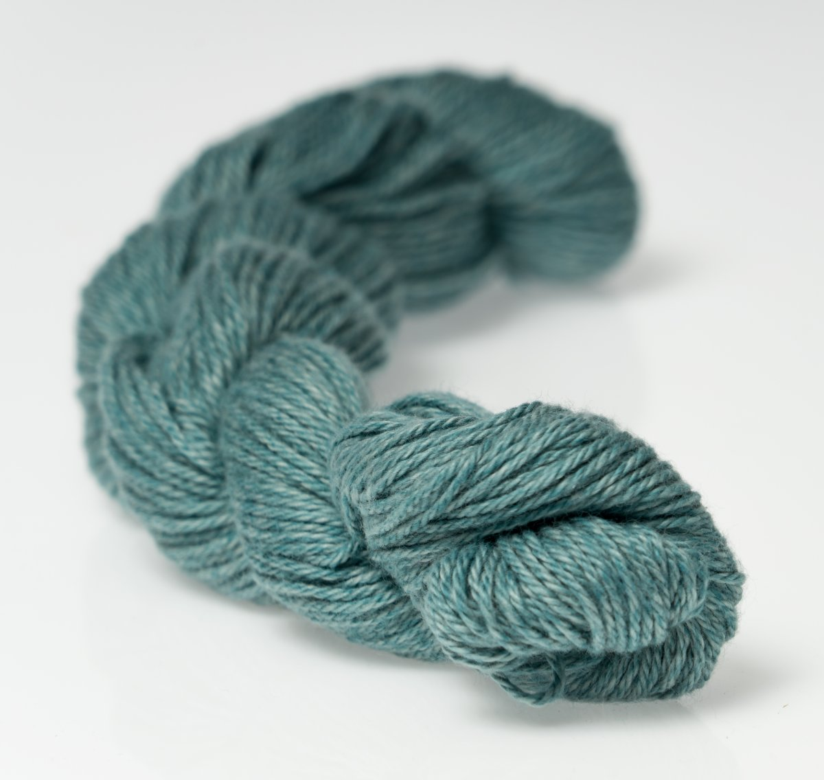 Heather Fingering Pewter Blue