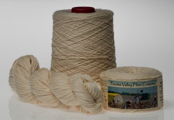Pacolet Valley Heather Fingering Yarn Cone Ball Skein
