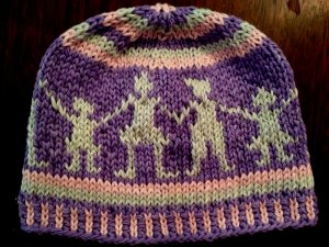 Fair Isle Little People Hat