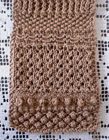 Sampler Scarf pattern