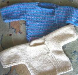 Simply Knitted Baby Sweater