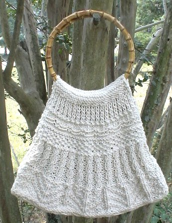 Simply Knitted Tote Bag