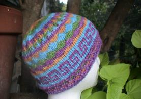 Mosaic Hat pattern